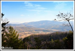 View from Pinnacle Mtn